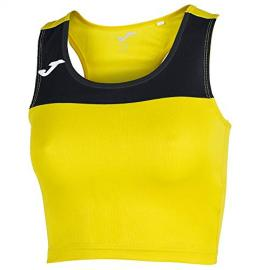Camiseta Mujer Race Amarillo-Negro S/m Xxl