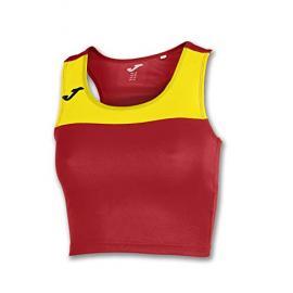 Camiseta Mujer Race Rojo-Amarillo S/m Xxl