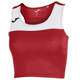 Camiseta Mujer Race Rojo-Blanco S/m Xxl