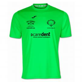 Camiseta Combi Verde Fluor Caug M/c