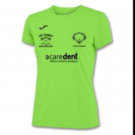 Camiseta Combi Woman Verde Fluor M/c