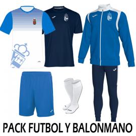 Pack Futbol y Balonmano Daganzo de Arriba