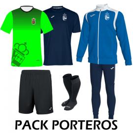 Pack Porteros Futbol y Balonmano Daganzo