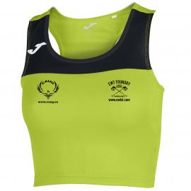 Camiseta Mujer Race Lima-Negro S/m