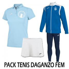 Pack Tenis Femenino Daganzo