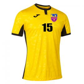 Camiseta Joma Voley Masculino Toletum II Amarilla